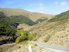 the road to Puerto de la Ragua (A337) - photo by Robert Bovington.  ++++  This road is the only connection between the north and south faces of the Sierra Nevada.