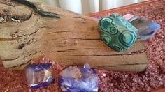 Gemstone Inspired Soaps in Earth's Treasures at Monsalvat Natural Impressions Art Exhibition by Lesley Mitchell and Denise Keele-Bedford