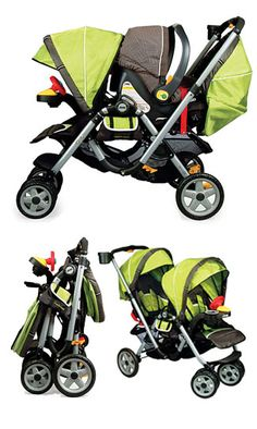Jeep Tandem Stroller!  Love our new stroller, this is great for our boys and especially since the infant seat goes in the back allowing for the older child in the front!