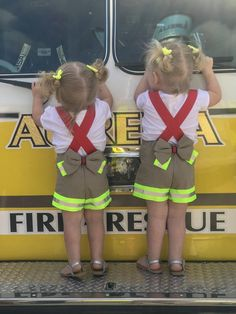 Mimas Bowtique Firefighter Suspender Shorts sizes Newborn to in orange or lime green reflective tape. Love the bows on the back! Firefighter Halloween, Firefighter Family, Female Firefighter, Firefighter Gifts, Newborn Firefighter, Fireman Wedding, Firefighter Wedding, Firefighter Birthday, Fireman Kids