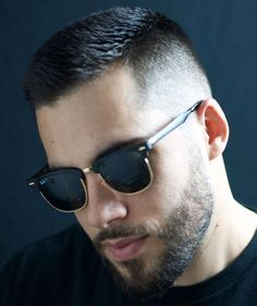 15 crew cut examples: a great choice for modern men haircuts for men, ray Modern Mens Haircuts, Cool Mens Haircuts, Short Hair Cuts, Short Hair Styles, Crew Cuts, Fade Haircut, Crew Cut Haircut, Hairstyles Haircuts, Funky Hairstyles