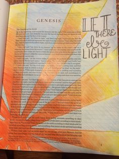 """Genesis And God said, """"Let there be light,"""" and there was light. Be Light, Love And Light, Sunshine Of Your Love, Church Interior Design, Scripture Journal, Genesis 1, 2020 Vision, Photo Projects, Worship"""