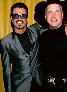 In memory of George Michael /George with Garth Brooks