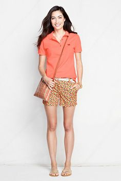 "Take the shortcut. Bright Sun Multi Fruit 5"" Chino Shorts. #CanvasLandsEnd #Spring2014"