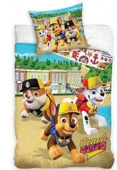 Detské návliečky Labková patrola Fallout Vault, Pup, Boys, Beach, Fictional Characters, Baby Boys, Dog Baby, The Beach, Puppies