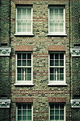 Doors and Windows - Art - Town house  by Tom Gowanlock