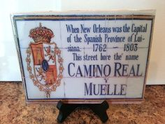 New Orleans Wall Art HIstoric Tiles French by scontrino1970, $16.00  several streets available and larger sizes too!