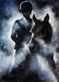 "Elena Kraft, ""Ready"" #horse"
