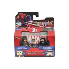 Minimates Marvel Comics Series 46: The Amazing Spider-Man Aunt May & Lizard Trooper 2 inch Mini Figure 2-Pack | ToyZoo.com