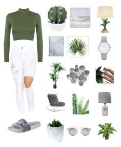 """""""time"""" by mar14nn3 on Polyvore featuring mode, WearAll, Puma, Pottery Barn, Palecek, Mitchell Gold + Bob Williams, Pacific Coast, Topshop et Christian Dior"""