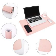 Multifunctional Office Desk Pad Pink Desk Top Cover Mat Laptop Doodle Desk Pad Writing Pad For Desk Writing Mat Gaming Desk Pad Pink Desk Desk Pad