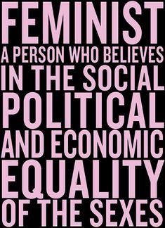 Feminist definition - Chimamanda Ngozi Adichie