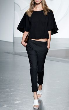 Tibi Spring/Summer 2014 Trunkshow Look 30 on Moda Operandi