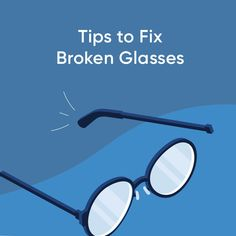 If your glasses are damaged, you may be able to save them! Read our Glasses Guide to learn how. Glasses Guide, Glasses Frames, Framing Materials, Eyeglasses, Mirrored Sunglasses, Lens, Eyewear, Klance, Glasses