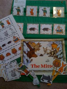 The Mitten Pattern Cards