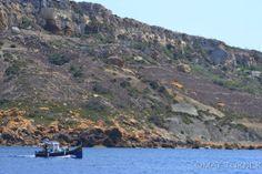 #fishingboat San Blas Bay #Gozo