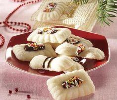 kokosové bonbony s čokoládou Christmas Candy, Christmas Cookies, Czech Recipes, Ethnic Recipes, Favorite Cookie Recipe, Fudge, Cookie Cutters, Cookie Recipes, Panna Cotta