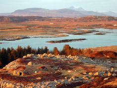 Isle of Erraid is an island in the Inner Hebrides. In Kidnapped Davie Balfour is stranded on the island after the ship he was shipwrecked on the Torran Rocks