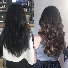 Balayage Blonde Ends - 20 Fabulous Brown Hair with Blonde Highlights Looks to Love - The Trending Hairstyle Brown Hair Balayage, Brown Blonde Hair, Brunette Hair, Hair Highlights, Balayage Hair Dark Black, Brown Hair Shades, Light Brown Hair, Brown Hair Colors, Hair Color For Black Hair