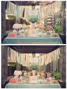 This is a photo blog but I love the shabby chic party pictures.
