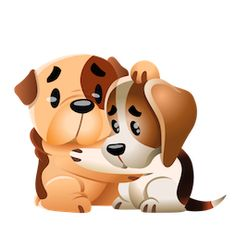 Facebook Emoticons, Animated Emoticons, Cute Love Photos, Images Emoji, Cute Puppies And Kittens, Cute Animals Images, Dog Comics, Emoji Love, Friends Gif