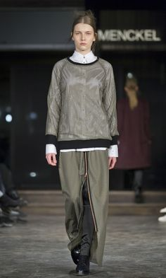 MENCKEL A/W '14 Stockholm Fashion Week, Copenhagen Fashion Week, Fall Winter 2014, Must Haves, Runway, High Neck Dress, Sweaters, Shopping, Collection