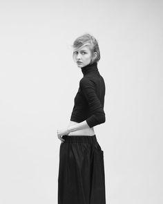 Julia Fuchs by Ivan Ruberto forOyster Magazine