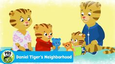 DANIEL TIGER'S NEIGHBORHOOD | There's Time for You and Baby, Too (Song) ...