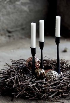 house doctor candles - christmas decoration - kerst - winter