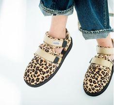 9ed9f98ad664 Suicoke FW18 Nots in Calf Leopard and Mouton  suicokeshoes  leopard  fw18   sandal