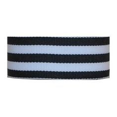 "Grosgrain Mono Stripe Ribbon 7/8"" 10 Yards, Navy"