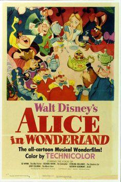 Alice in Wonderland TBT: See All 53 Walt Disney Animation Movie Posters Walt Disney Animation, Walt Disney Animated Movies, Animated Movie Posters, Disney Movies, Disney Wiki, Animation Movies, Disney Movie Posters, Best Movie Posters, Classic Movie Posters