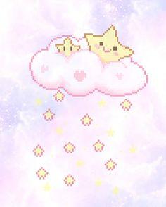 cute kawaii pink sweet pixel pastel goth kawaii pastel