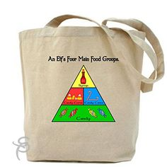 An Elf's Four Main Food Groupe Tote Bag