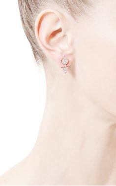 Elin Crystal-Pavé Convertible Earrings by Fallon - Moda Operandi