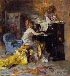 Boldini--Woman at Piano