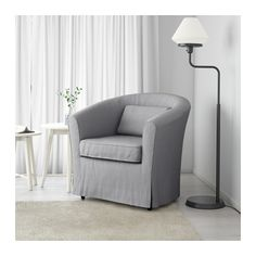 TULLSTA Chair - Nordvalla medium gray