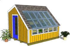 Shed Plans - Wood Greenhouse Plans – We Added A New Greenhouse Shed Plan ... - Now You Can Build ANY Shed In A Weekend Even If You've Zero Woodworking Experience!