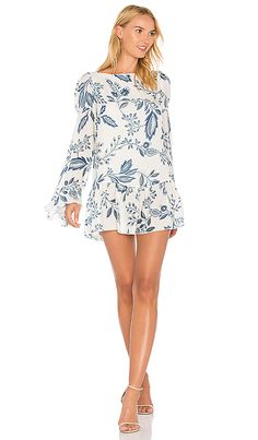 209ebed8c7 Shop for STONE_COLD_FOX Montauk Dress in Indigo Floral at REVOLVE. Free 2-3  day