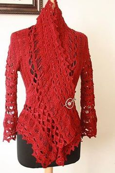 Inspiration Crochet Sweater:) ~ pp