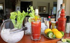 Bloody Mary Bar #DIY