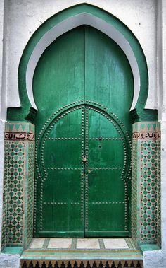 stunning door