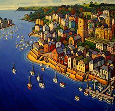 Jim Edwards - Welsh naive painter