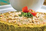 Aprenda a fazer quiche vegano para um almoço leve e delicioso