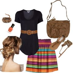 """""""Love Me Some Stripes"""" by crista-yannayon95 on Polyvore"""
