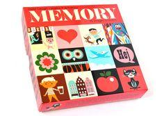 Ingela Arrhenius - Jeu de Memory - Omm Design, Mes Habits Chéris - kidstore Récréatif - Décoration enfant
