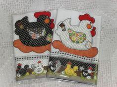 pano de prato em tecido 100% algodão, medida 65cm x 45cm, produto artesanal, composição do aplique em estampas variadas. R$12,00