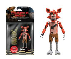 Action Figures: Action Figure: Five Nights at Freddy's- Foxy