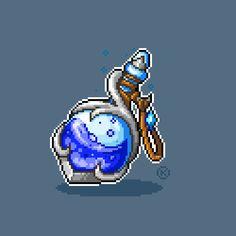 more magical pixels to the potion set :) Perler Bead Art, Perler Beads, Pixel Art, Arte 8 Bits, Pixel Drawing, 8 Bit Art, Fantasy Art Landscapes, Figure Sketching, D&d Dungeons And Dragons