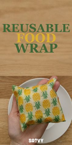 Reusable food wrap is great to make if you're trying to cut down on food waste, save money, and have your food and leftovers last longer. The best part about these wraps is that they can be used again and again (unlike plastic which has to be thrown out after one use), and can be made into all sorts of funky colors and patterns. Once you give these a try you'll never go back to plastic!